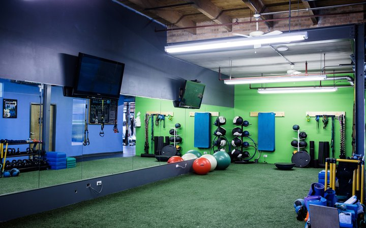 Conditioning area