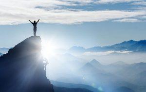 Goal Reached - Mountain Top