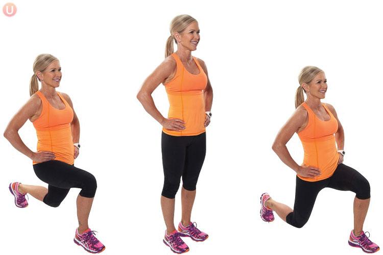 Strength Training for Marathon - Front Lunge