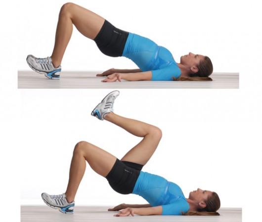 Strength Training for Marathon - Glute Bridge